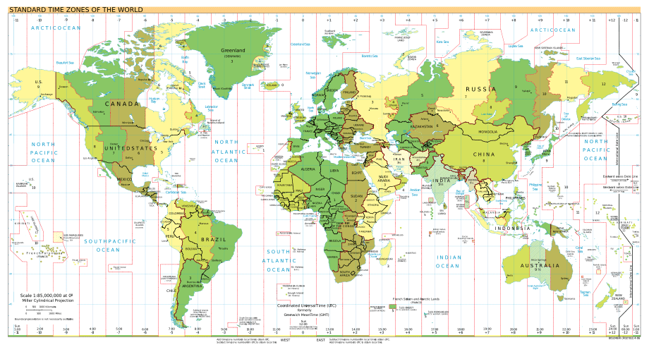 2007 02 20 Time Zones White Bck