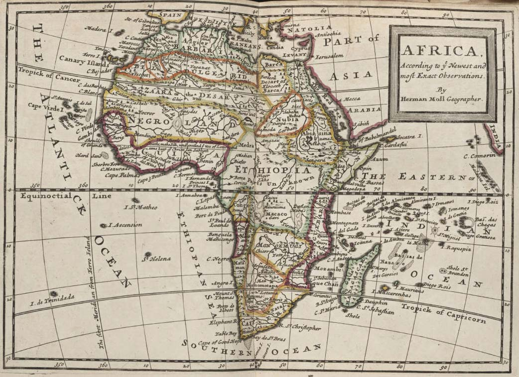 Africa Political And Historical Map