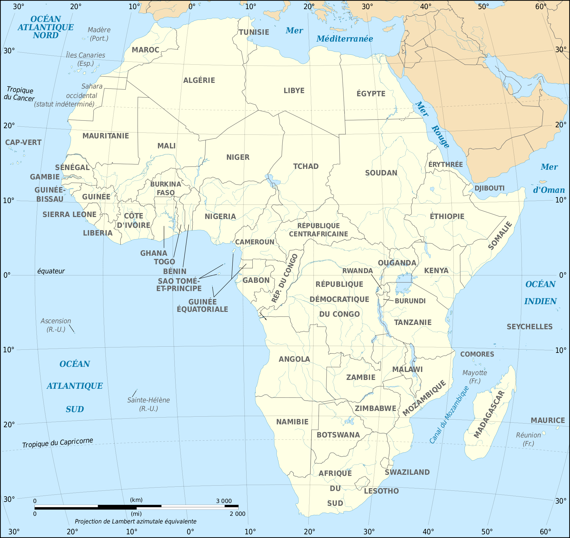 African Continent Fr