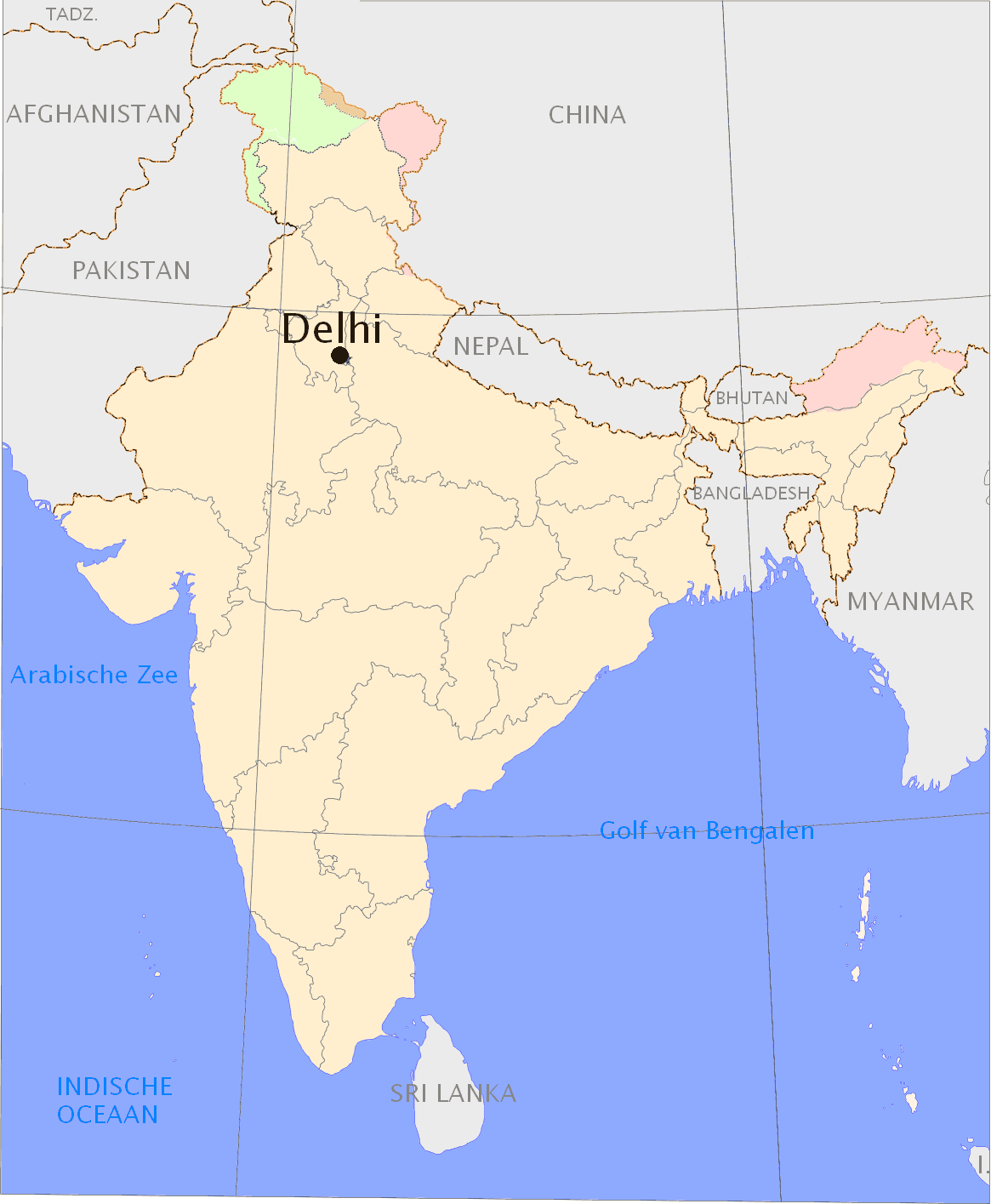 india map new delhi sifs