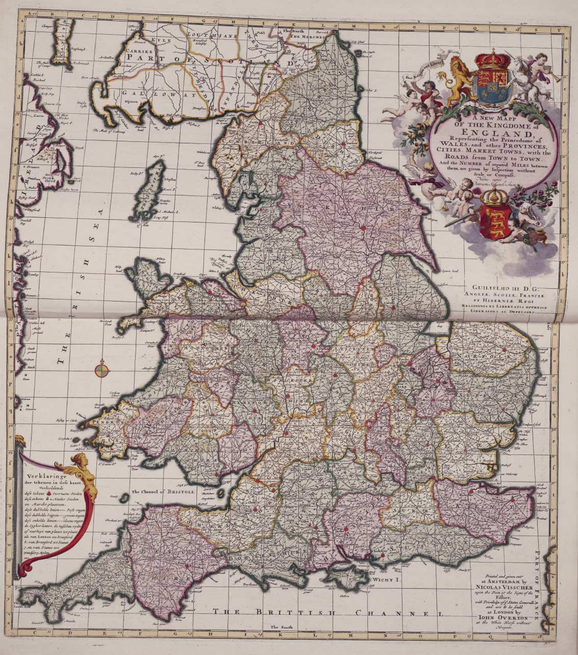 England Political And Historical Map