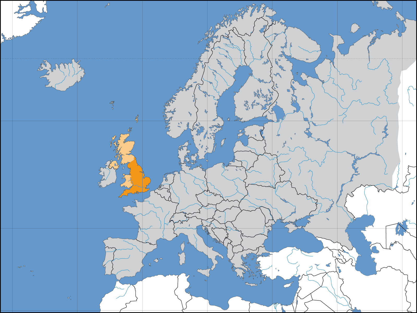 Europe Location England