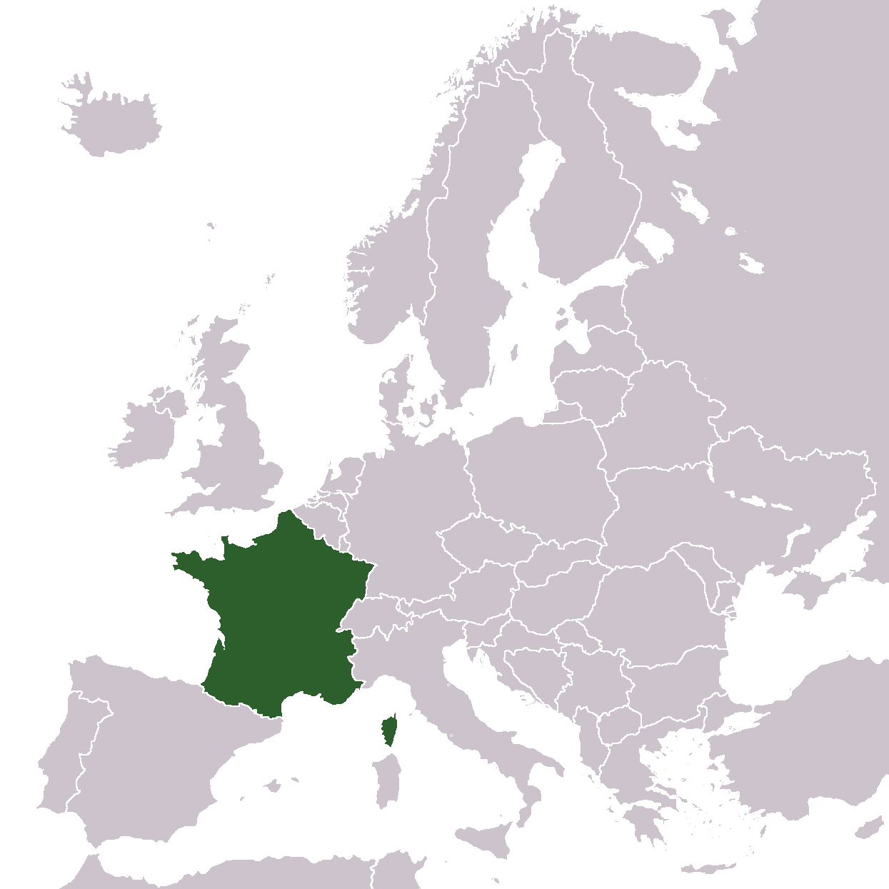 Europe Location France