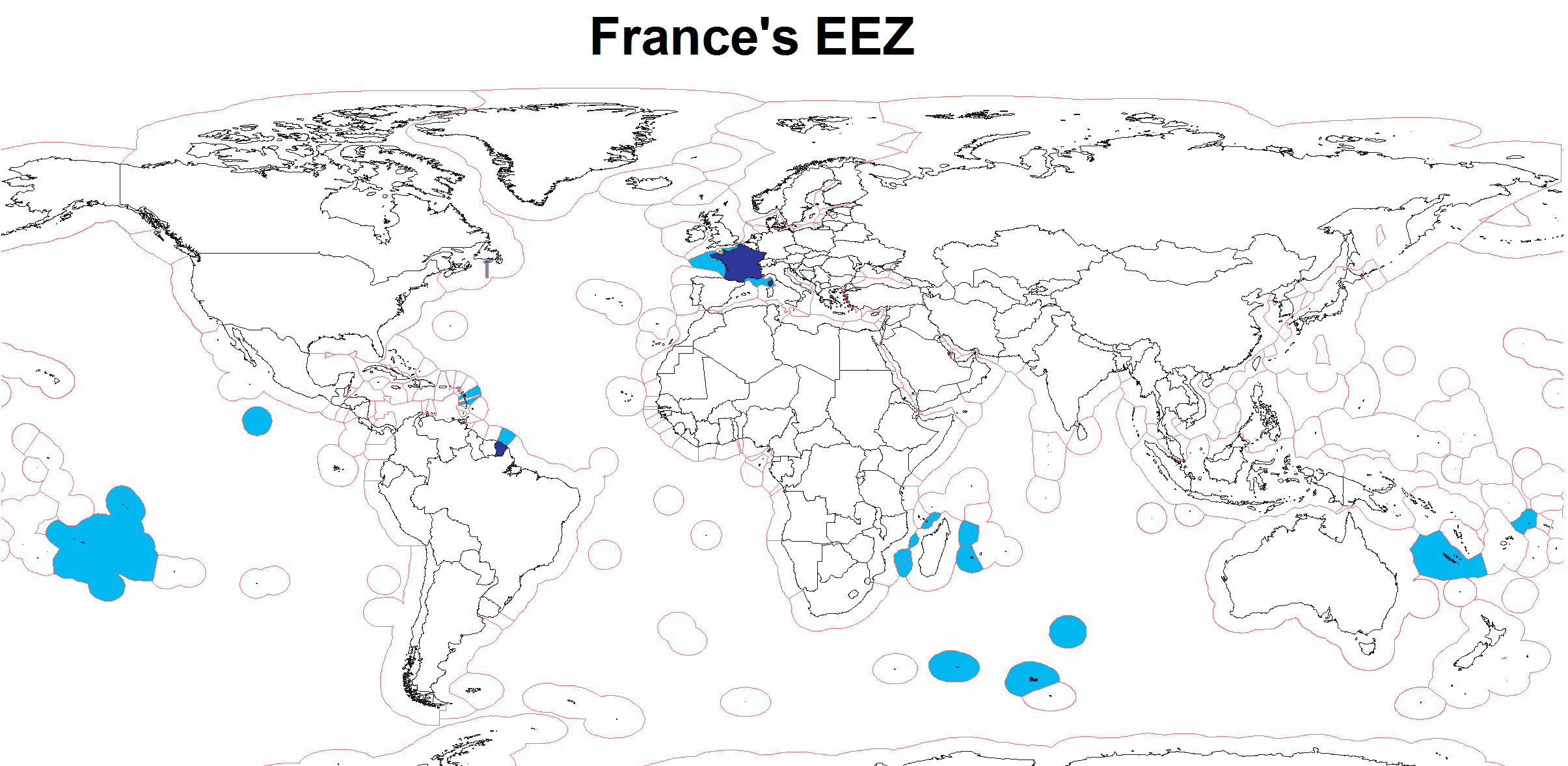 Exclusive Economic Zone of France