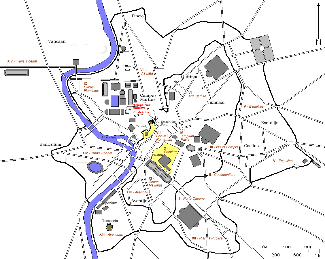 Rome Historical Map 2