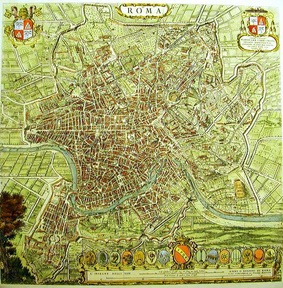 Rome Map Ancient