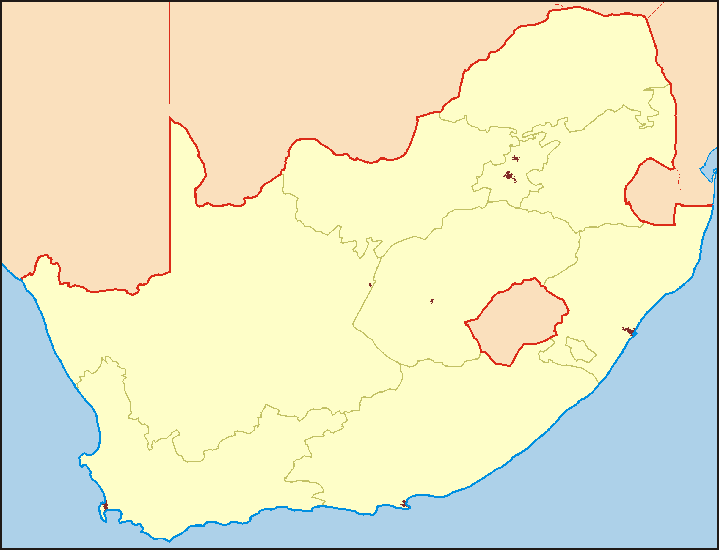 South Africa Ocation