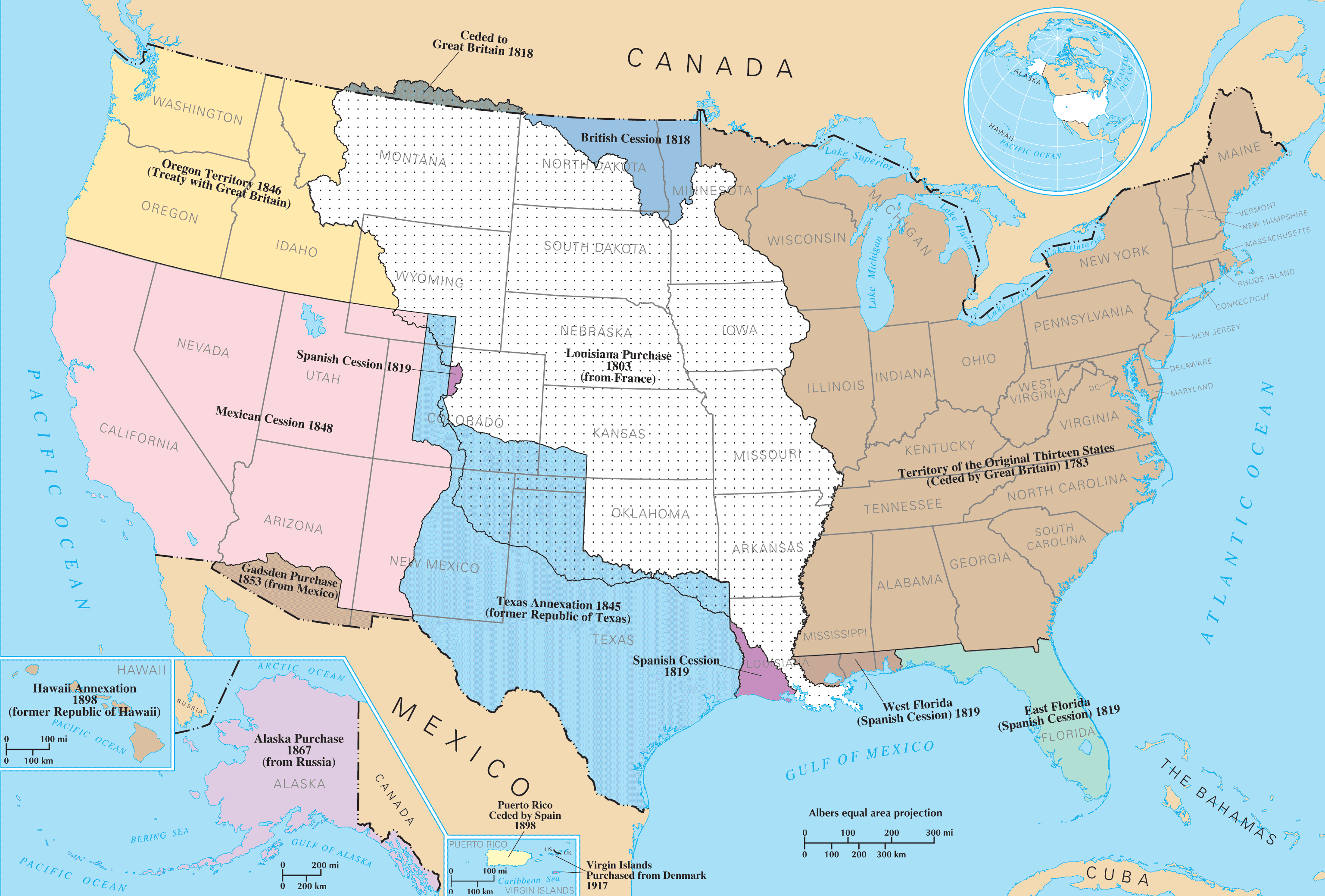 Territorial Acquisitions Of The United States