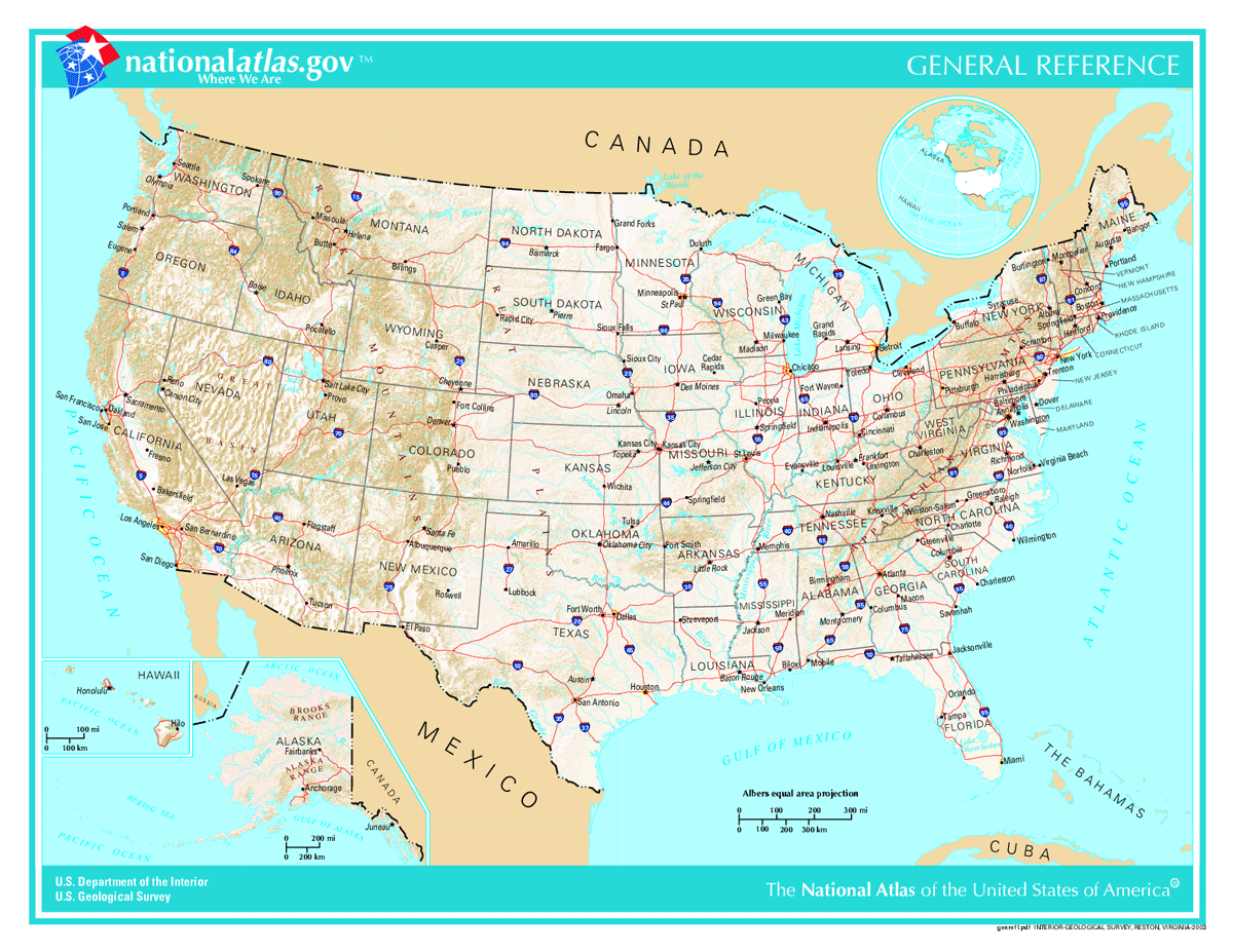 Us Map Geographic