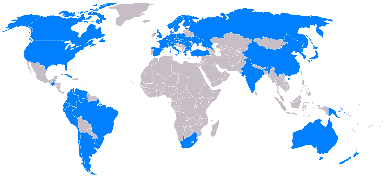 Antartic Nations