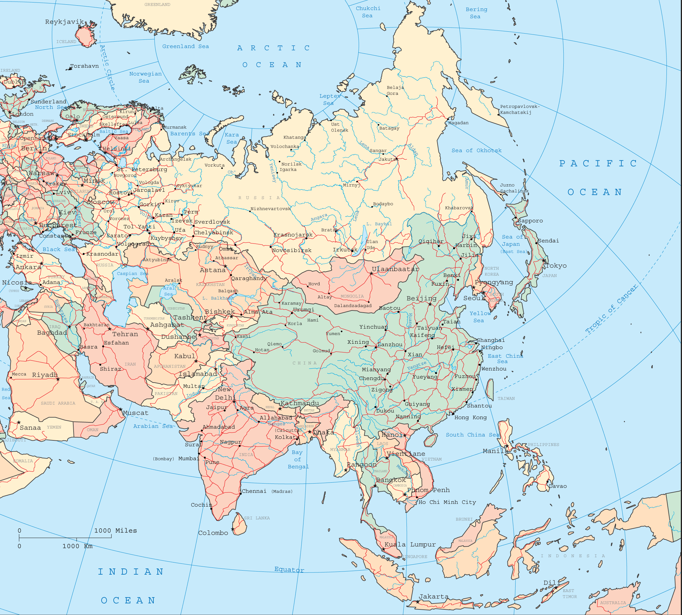 Asia Map 1