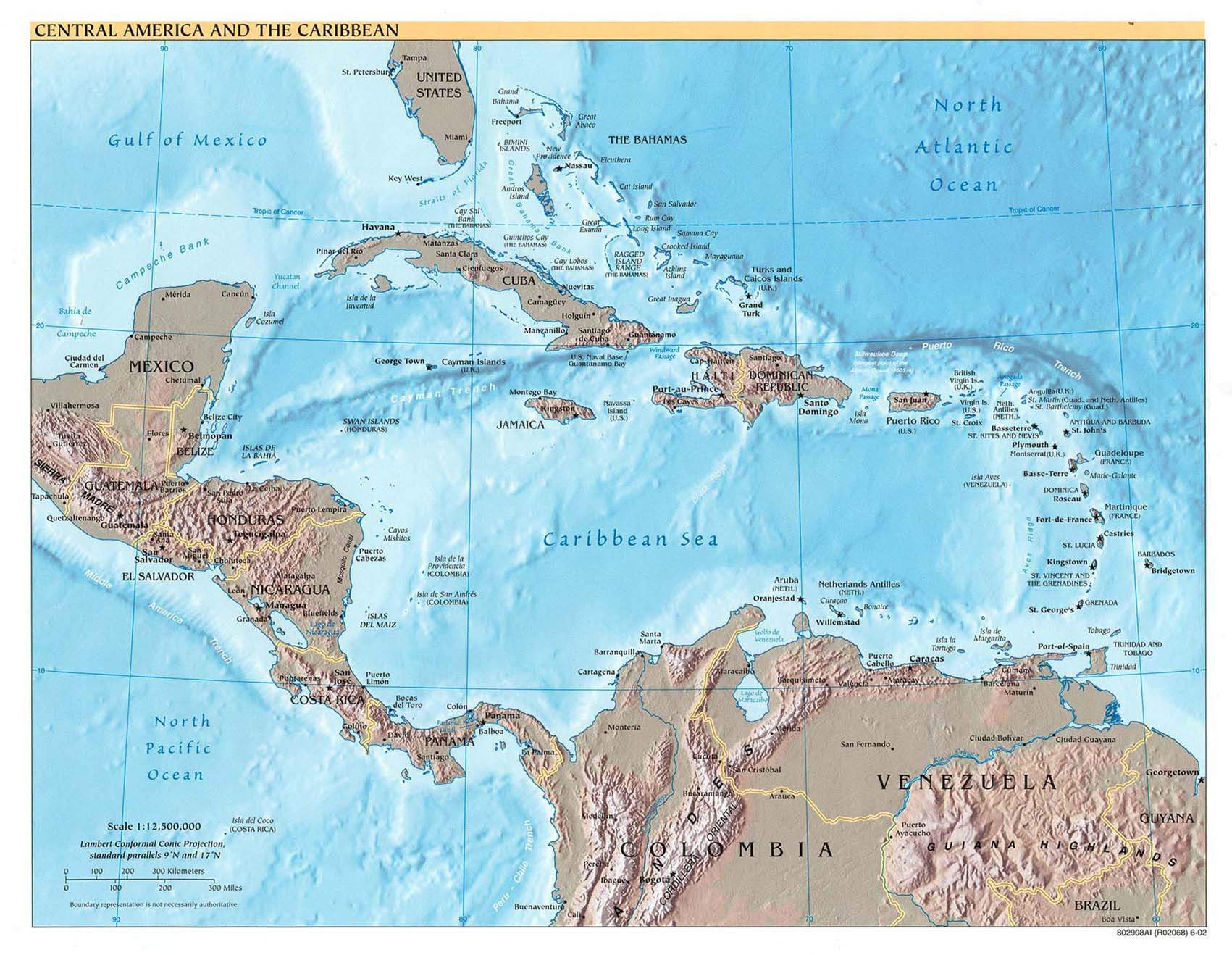 Central America And the Caribbean
