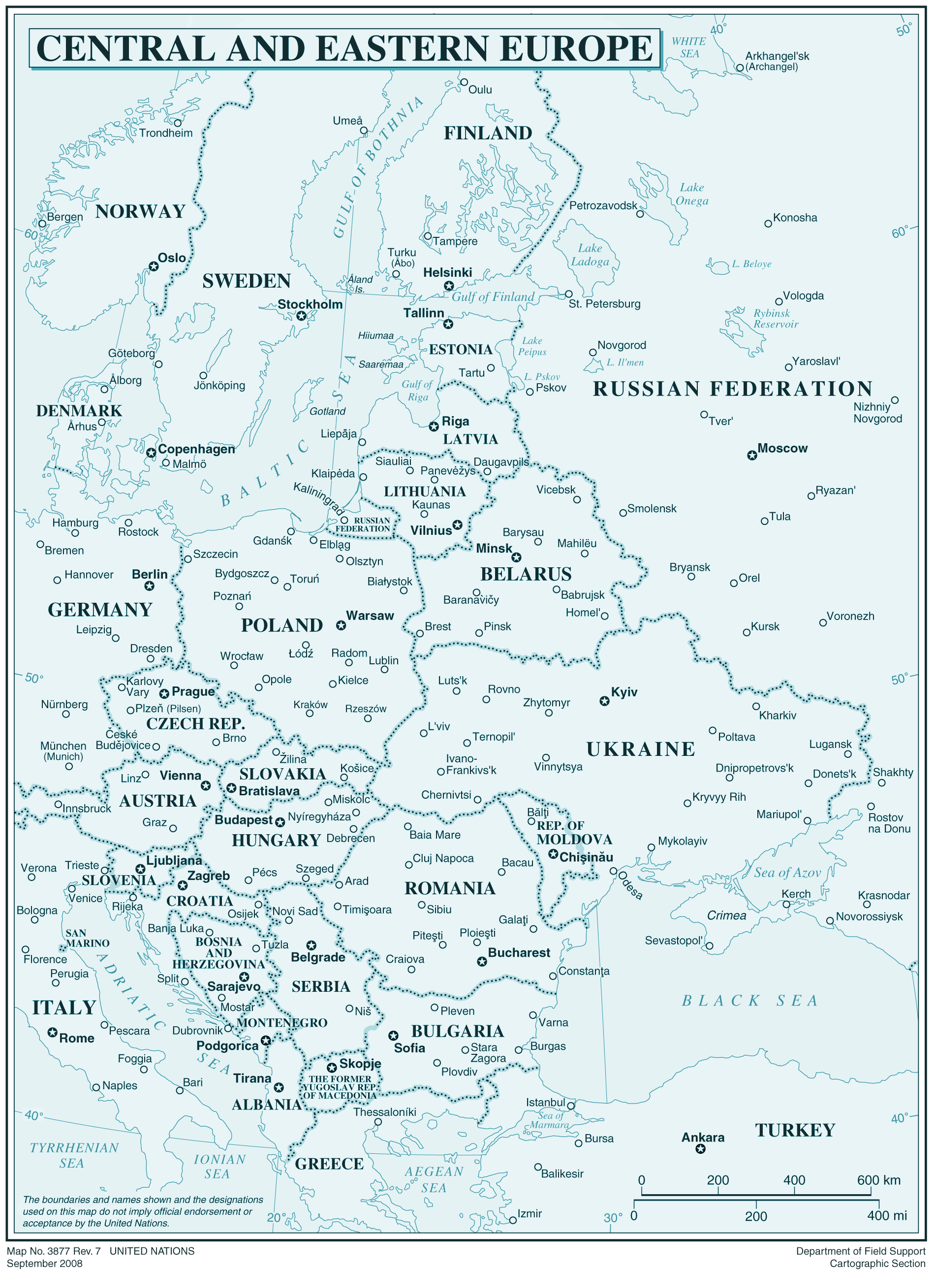 Central And Eastren Europe