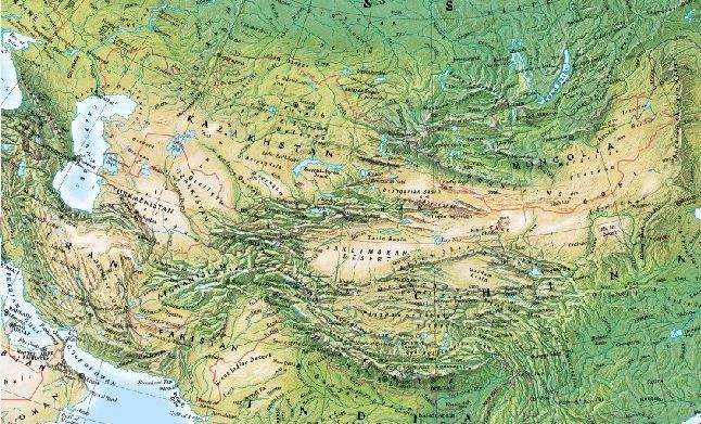 Central Asia Physical
