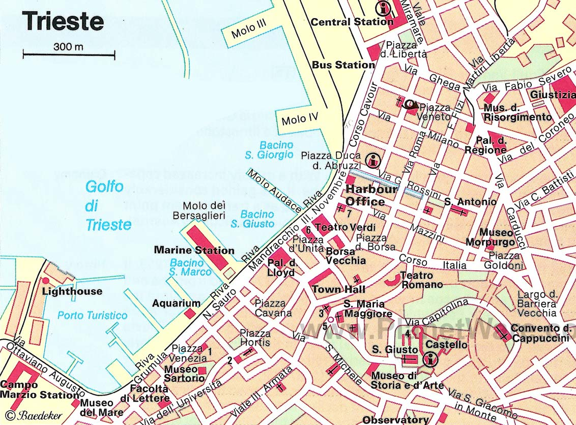 City Map Trieste 1
