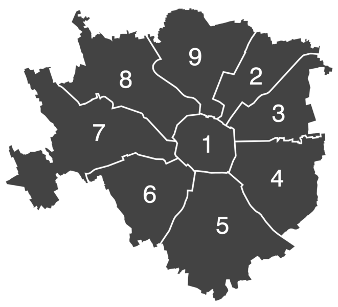 Districts of Milan