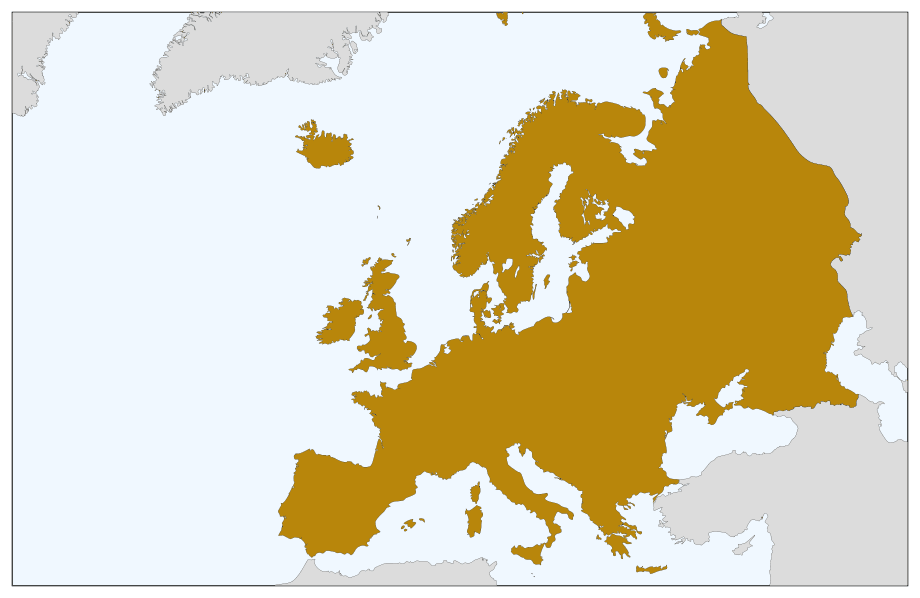 Europe Continents