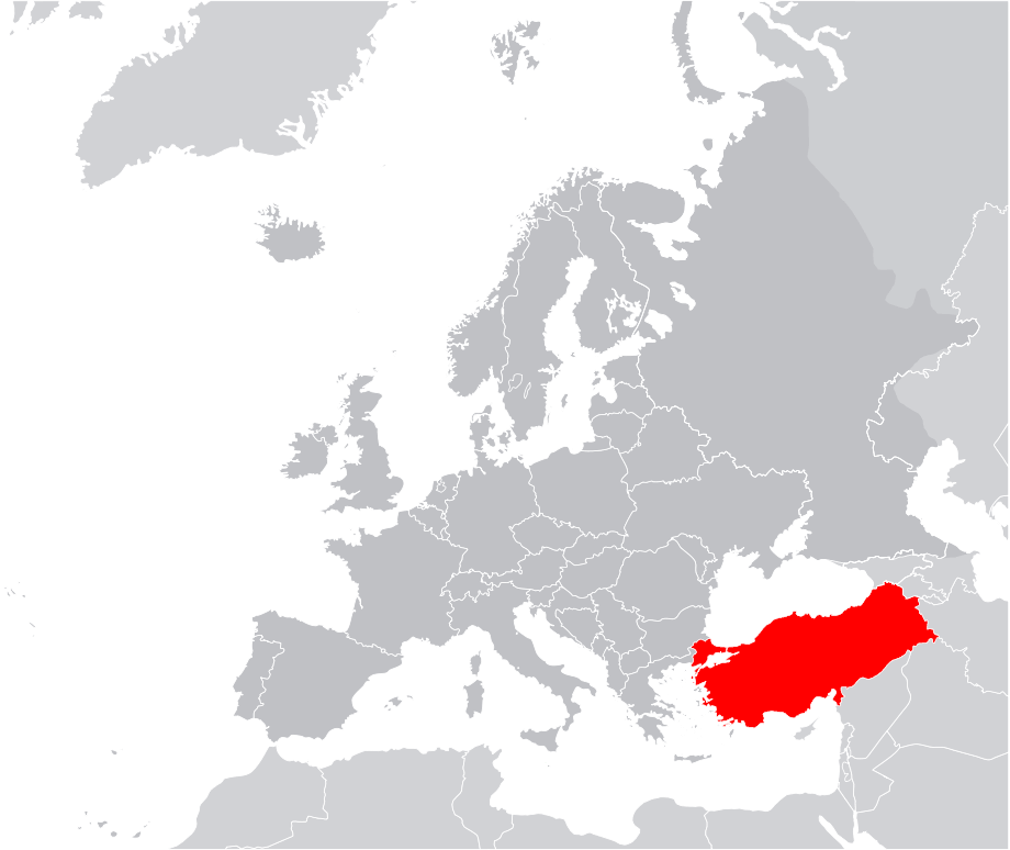Europe Location Turkey