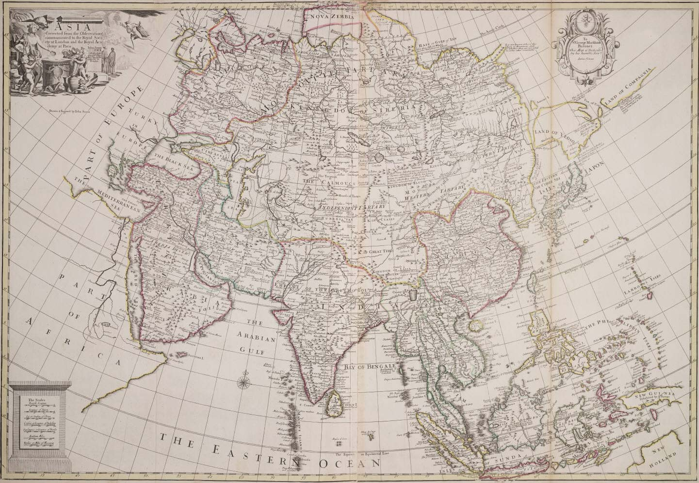 Historical Map Asia
