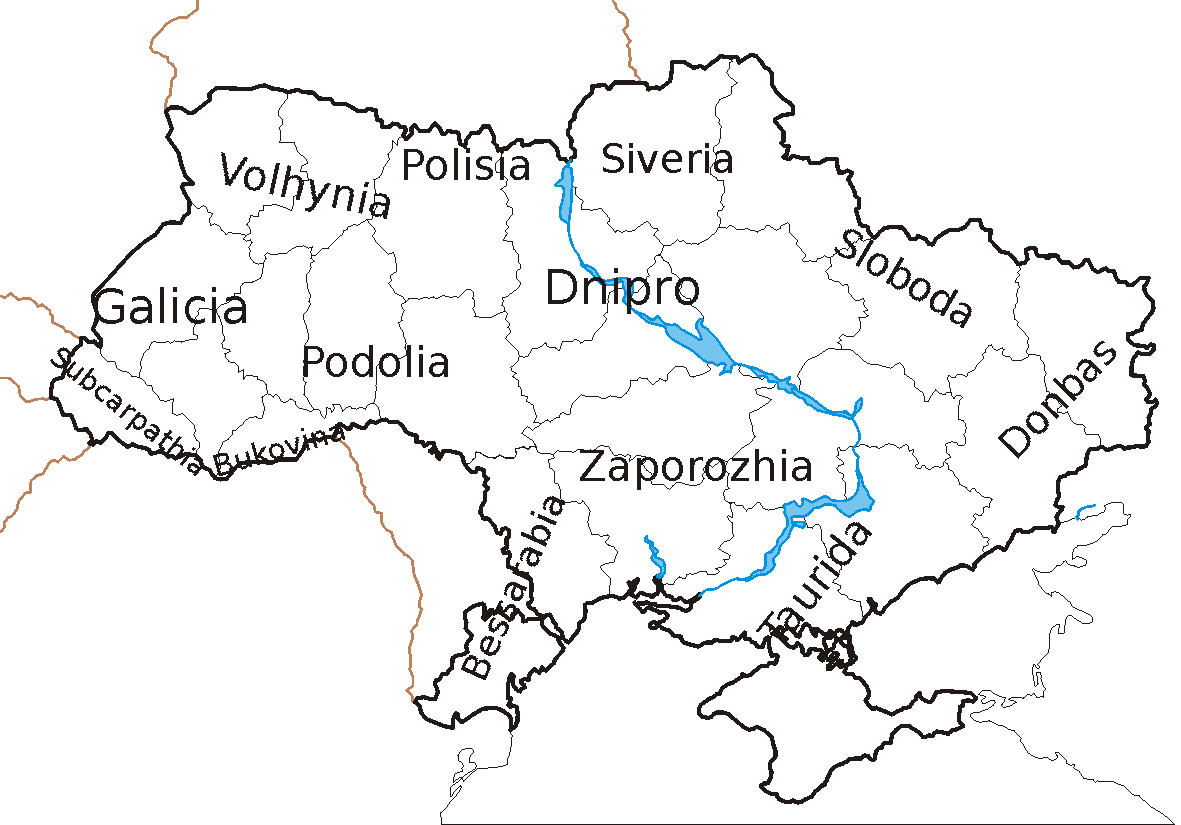 Historical Regions of Ukraine