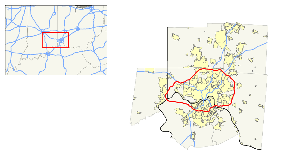 I 275 (in Ky Oh) Map B