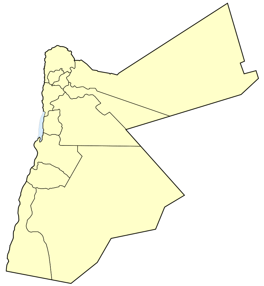 Jordan Governorates 1