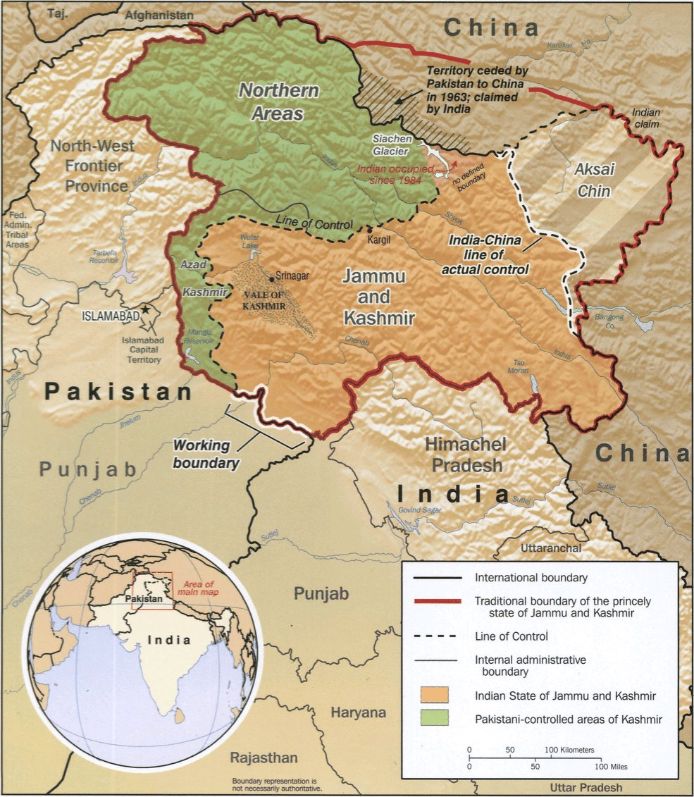 Kashmir Map Big 1