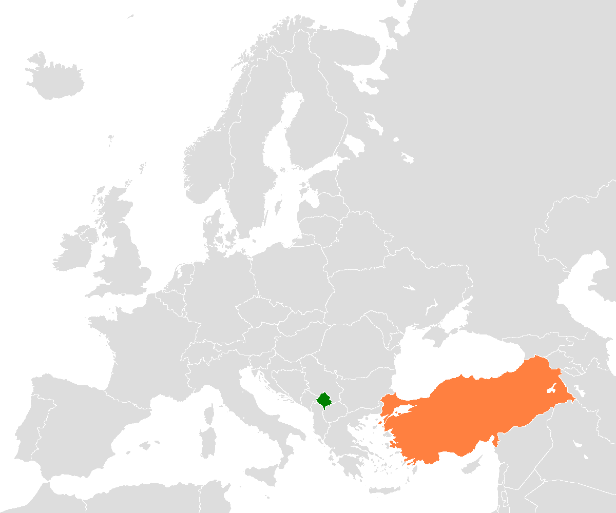 Kosovo Turkey Locator 1