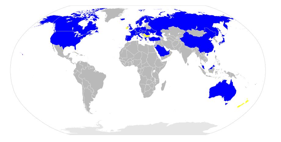 Map of Ikea Stores Around the World