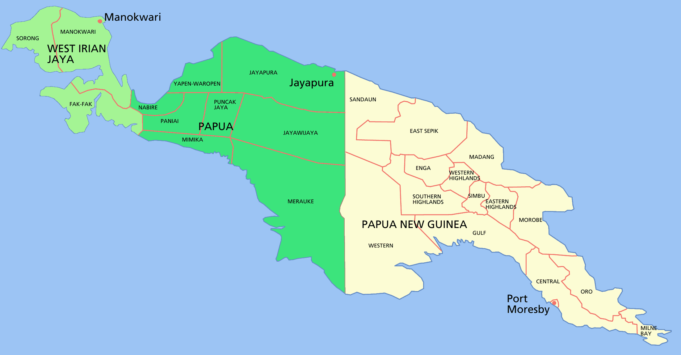 New Guinea Named