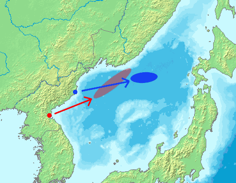 North Korea Missile Launch In 20060705