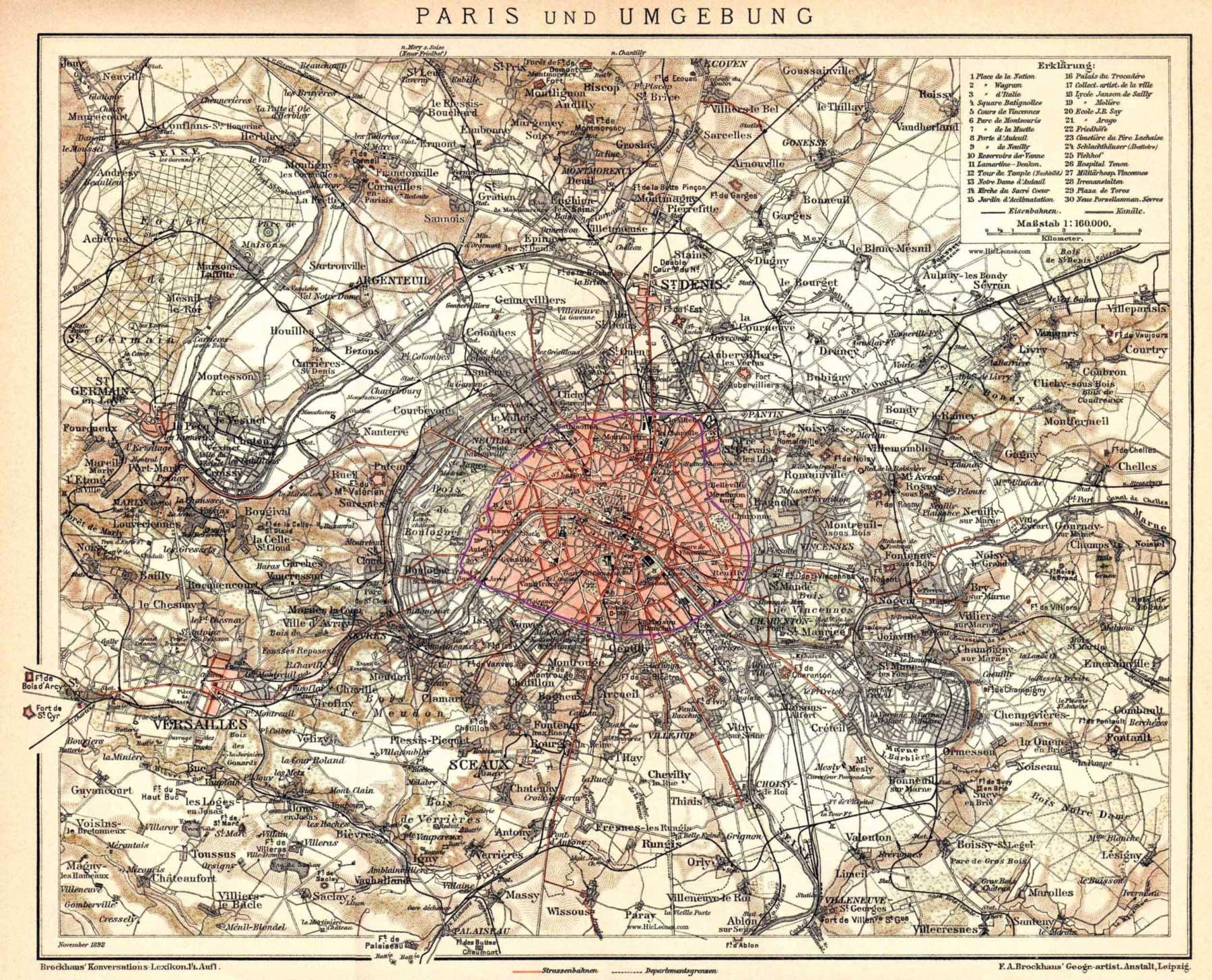Paris Petite Ceinture 1898