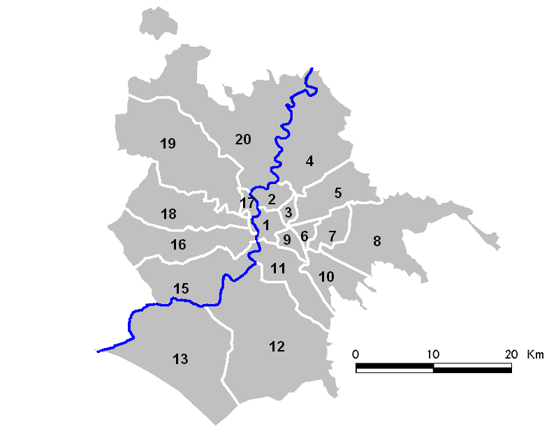 Rome   Overview Numbered
