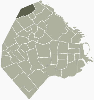 Saavedra Buenos Aires Map