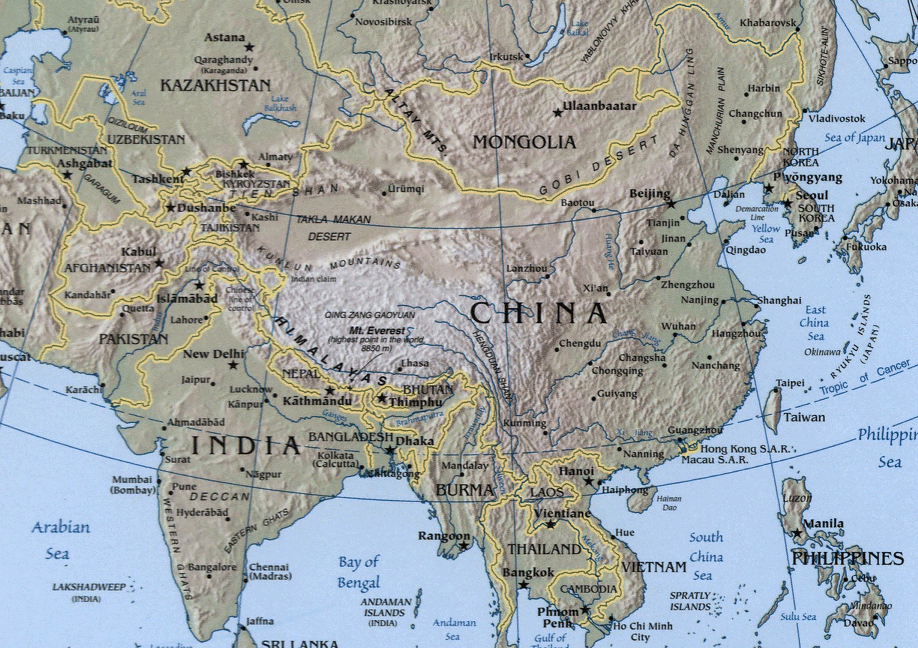 Sino Indian Geography