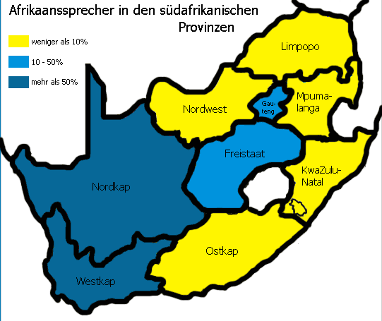 Speakers of Afrikaans German