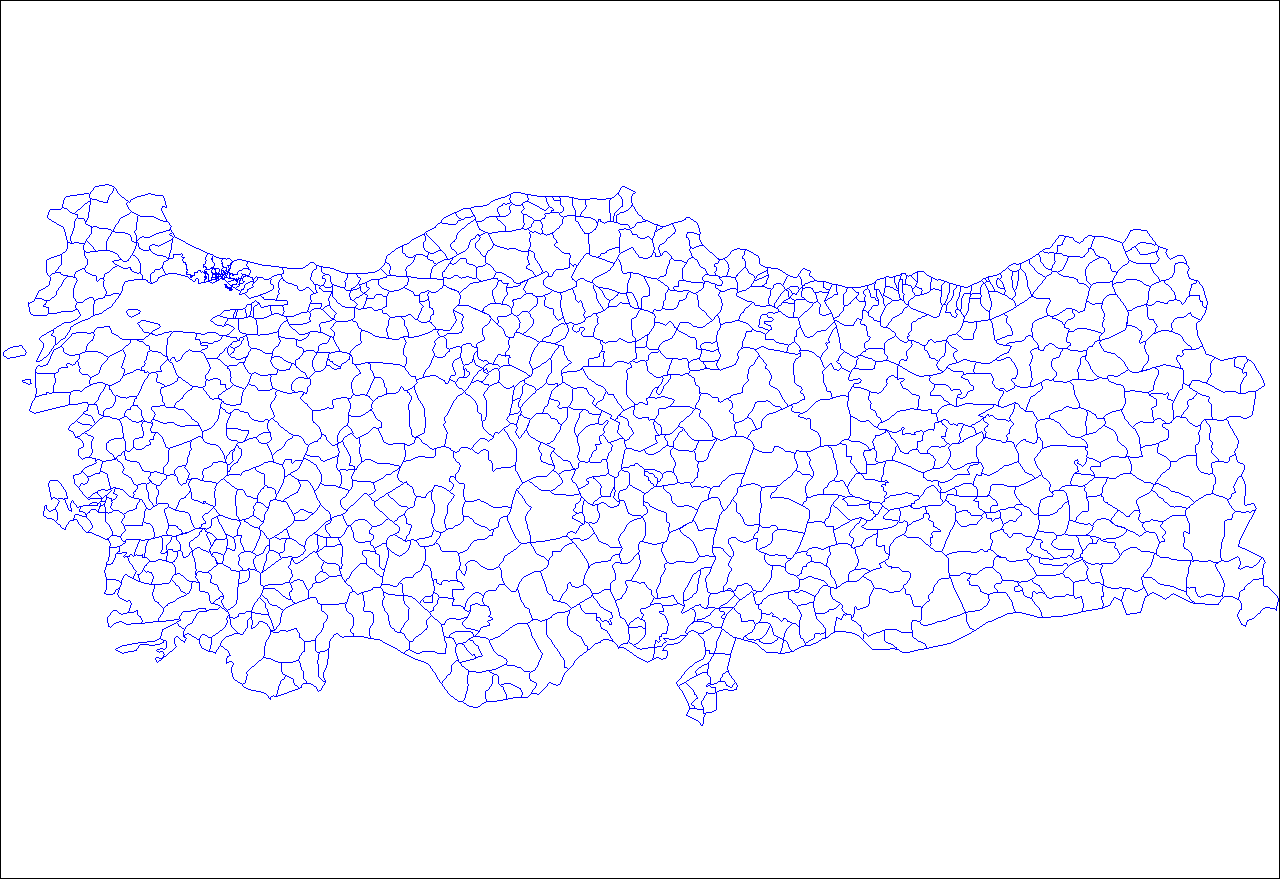 Turkey Districts