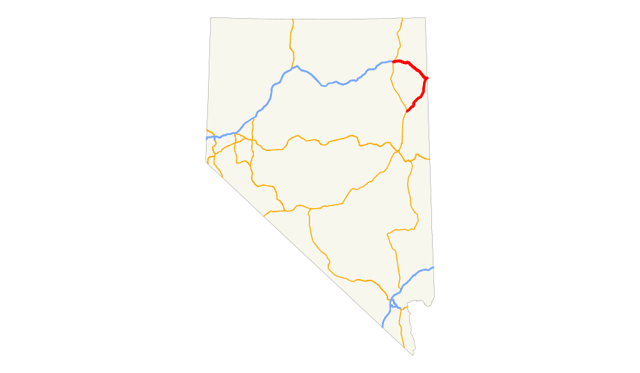 Us 93 Alt (nv) Map