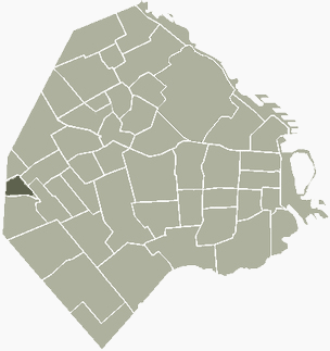 Versalles Buenos Aires Map