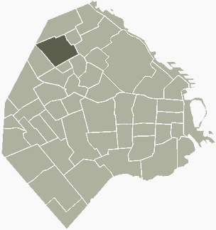 Vurquiza Buenos Aires Map