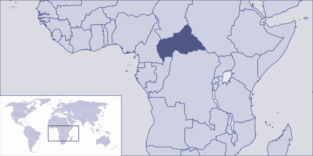 Where Is Central African Republic Located