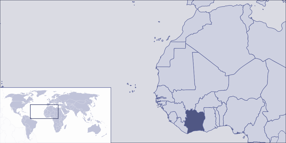Where Is Cote Divoire Located