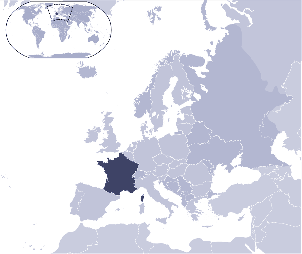 Where Is France Located