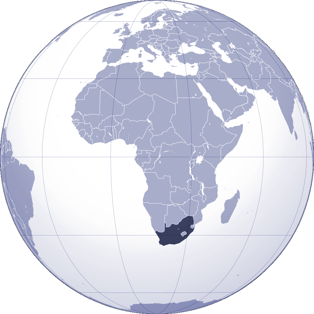 Where Is South Africa Located