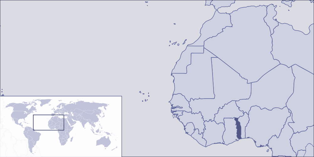 Where Is Togo Located