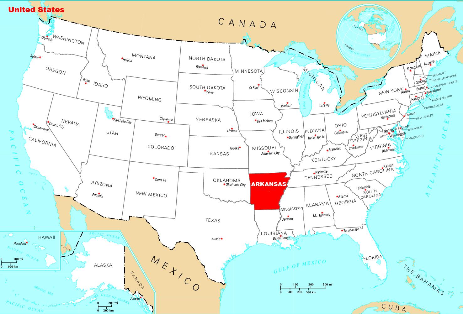Where Is Arkansas Located