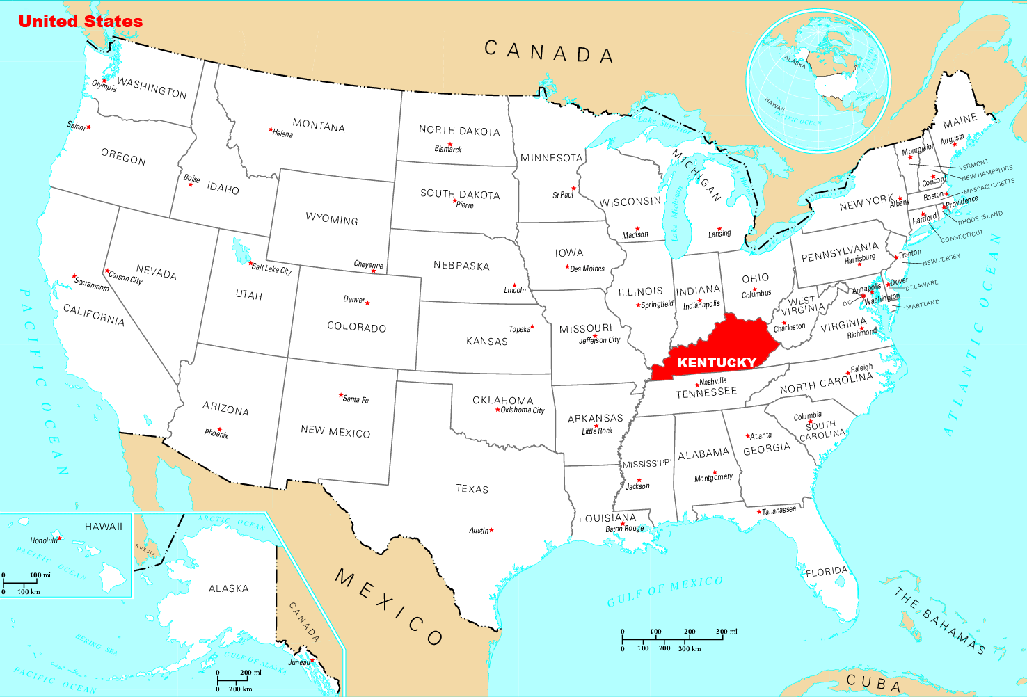 Where Is Kentucky Located