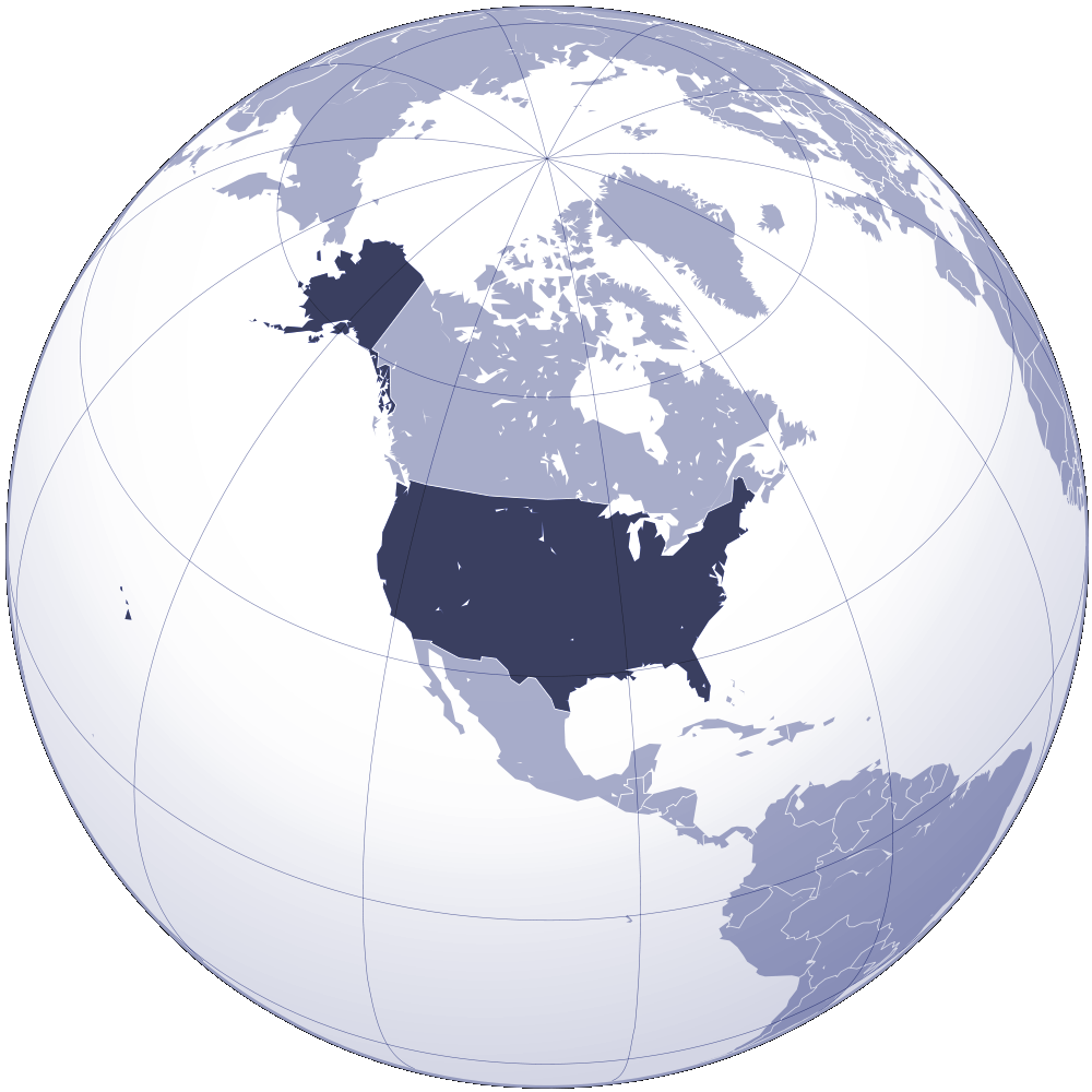 Where Is United States Located