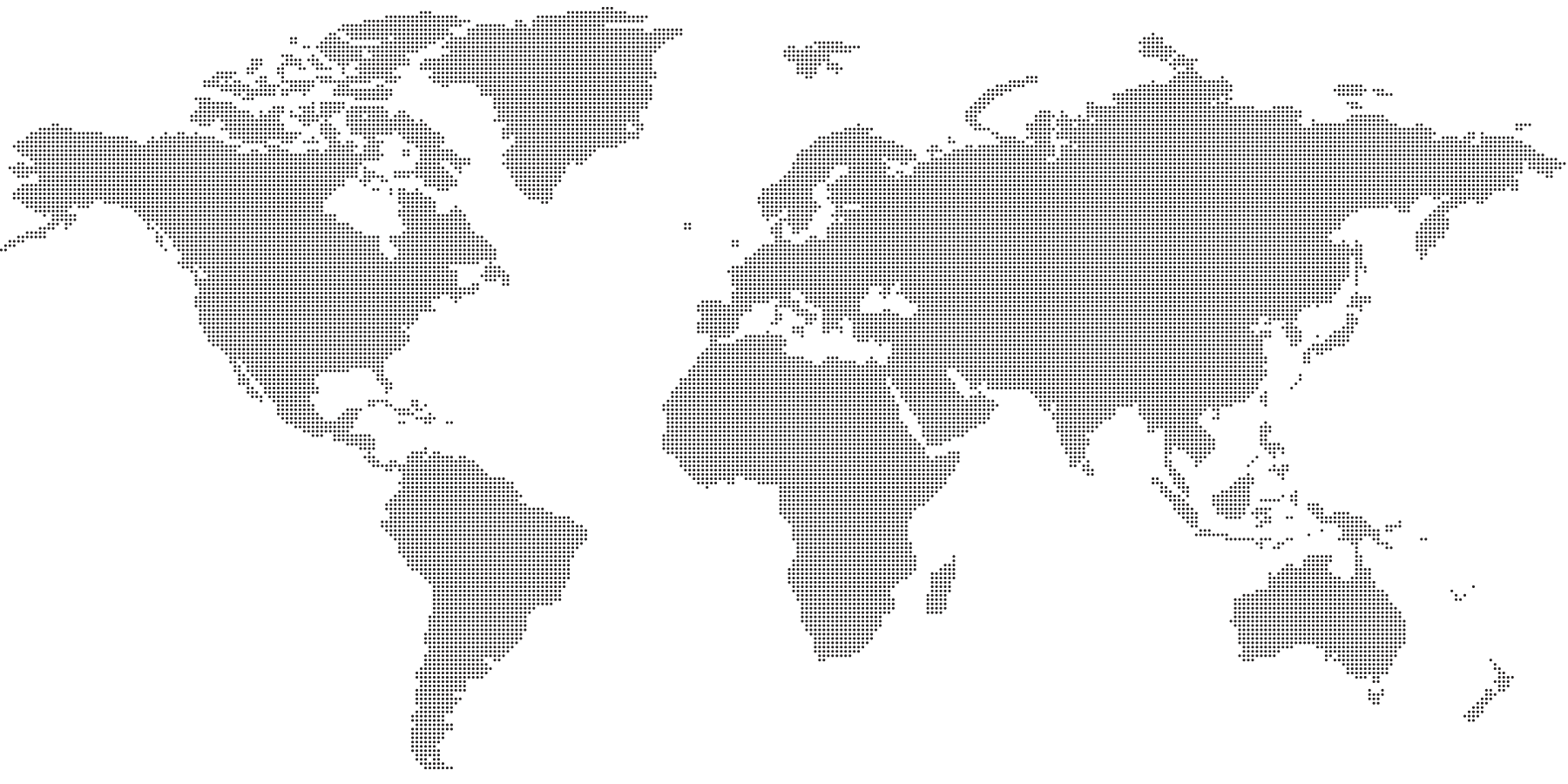 World Map Dotted