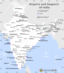Airports And Seaports Map